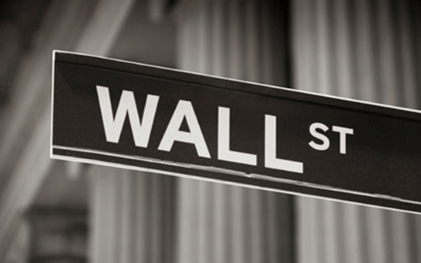 Descensos en Wall Street