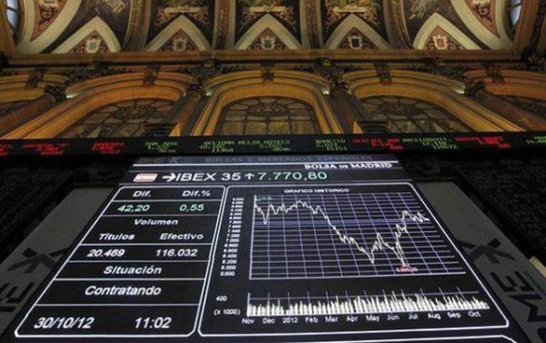 La Bolsa de Madrid repunta un 0,25% al cierre
