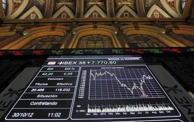 Apertura negativa del viernes en la Bolsa de Madrid