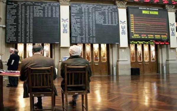 La Bolsa de Madrid comienza el lunes en negativo (-0,81%)
