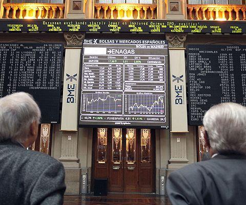 La Bolsa de Madrid cede el 2,53% al cierre