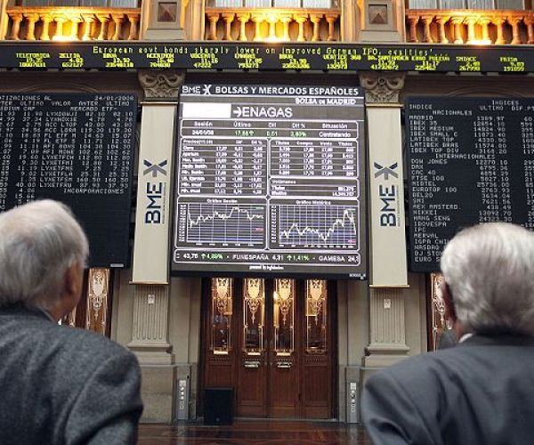 La Bolsa de Madrid cede un 0,33% al cierre