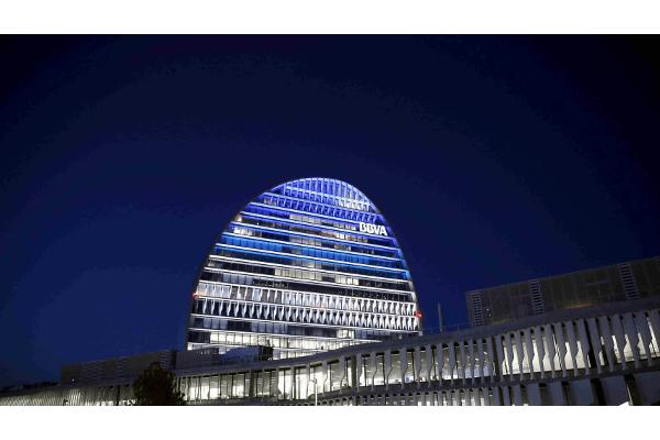 BBVA abona hoy un dividendo por acción de 0,09 euros