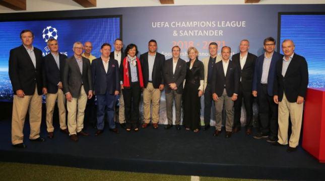 Banco Santander patrocinará la UEFA Champions League