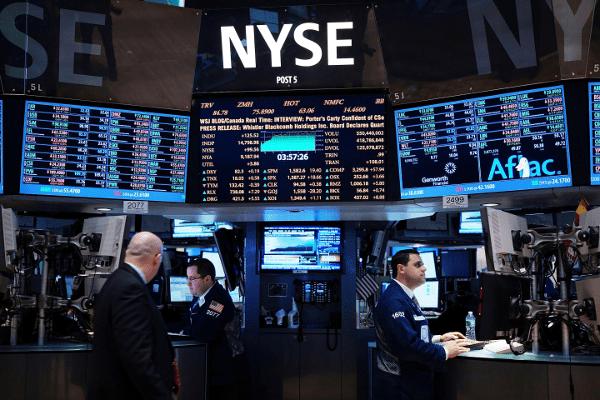 Pérdidas en Wall Street