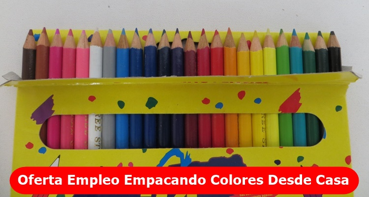 Empleo Empaque de Colores en Casa