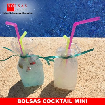 Bolsas cocktail mini
