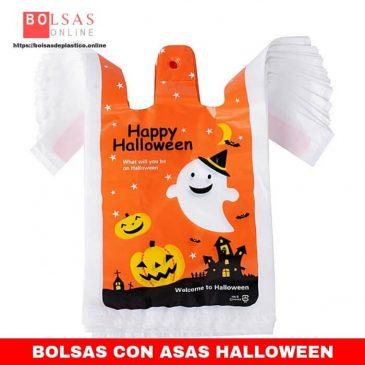 97581565d50 100pcs Bolsas Plástico para Regalos con Asas (18 * 10 * 35cm) Bolsas  Camiseta Plastico Bolsas de Compra para Halloween Navidad Fiestas Tiendas  Caramelos ...