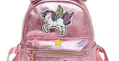 mochilas de la escuela unicornio bolsos del estudiante del arco iris del