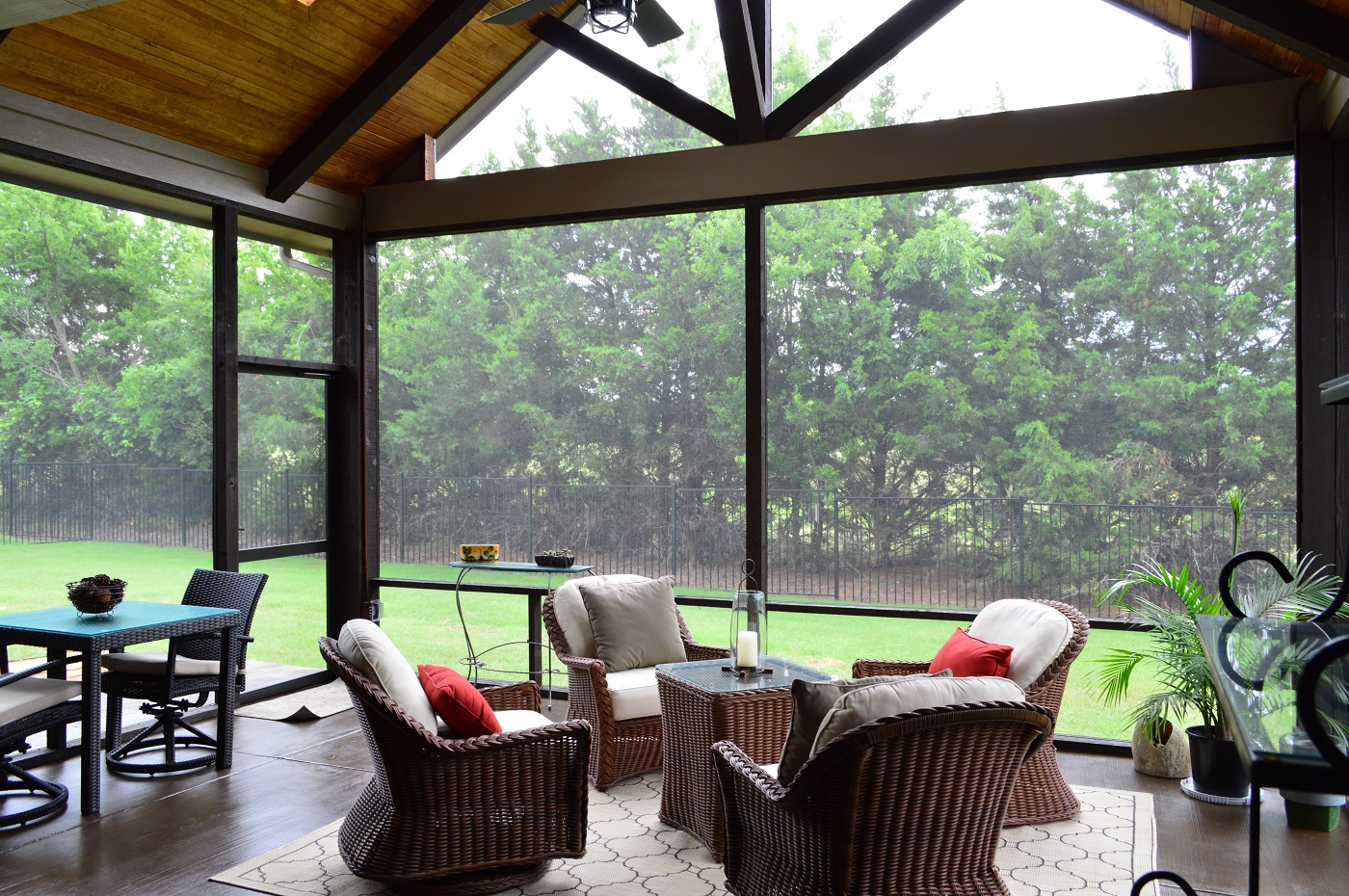 can a screened porch or patio add value
