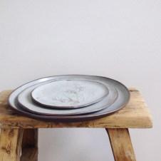 Plates by Elaine Bolt