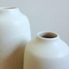 Chalk cream bottles by Elaine Bolt