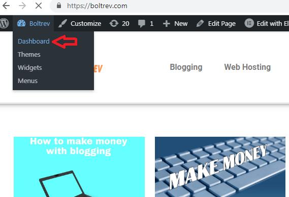 Wordpress theme installation illustration-boltrev.com