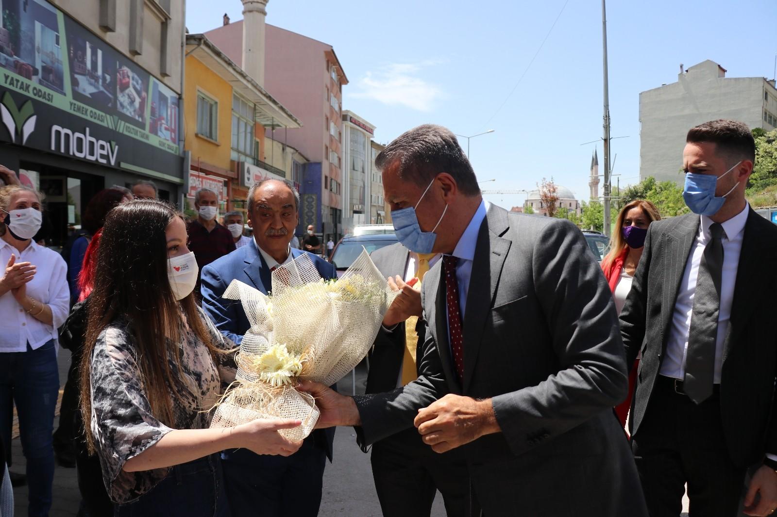 Türkiye Değişim Partisi Başkanı Sarıgül Bolu'da