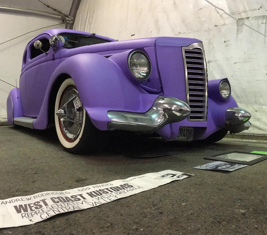 Andy from westcoastkustoms has owned this 1935 Ford for 51hellip