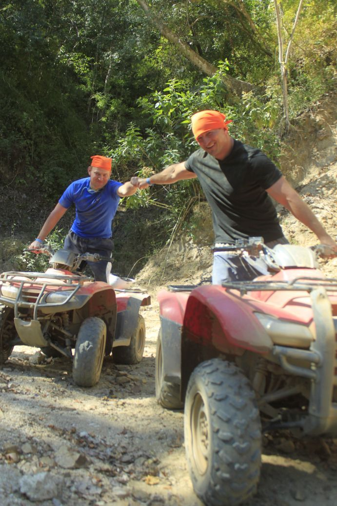 ATV Adventure in Mexico with cousin Z