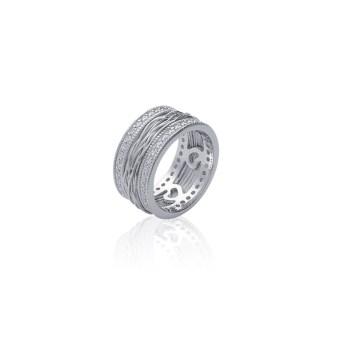 bague-en-argent-9251000-rhodie-et-oxyde-de-zirconium-avec-fil-d-argent-au-centre