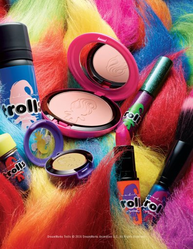 Collection Trolls Mac Cosmetics, à partir de 19 euros sur Mac Cosmetics