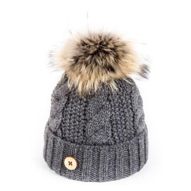 u-capa-beauty-gris-bonnet-pompon-fourrure1