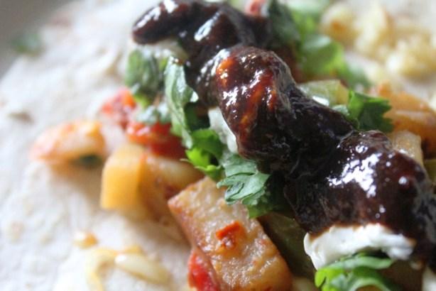Atul's Favorite Breakfast Burrito