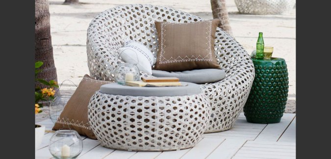 More 2014 Outdoor Decorating Ideas      Bombay Outdoors outdoor decorating ideas  2014  wicker patio set  outdoor furniture set   white