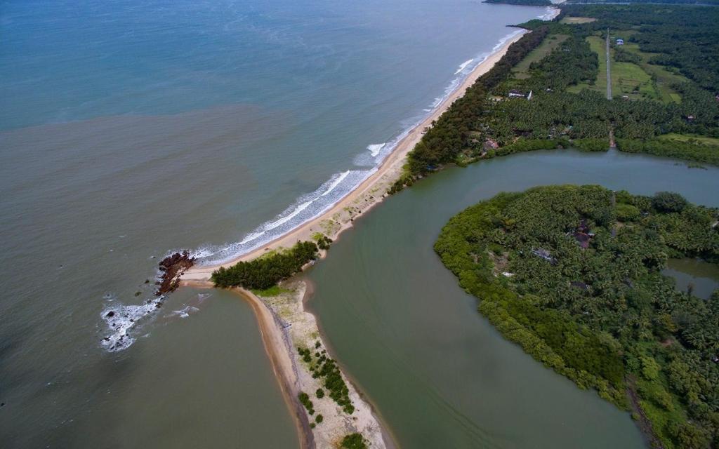 Bird eye view of Galibaga Beach