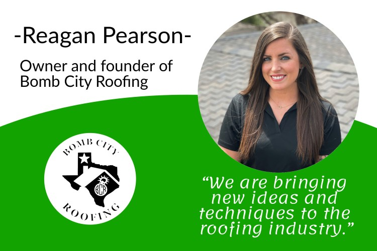 Reagan Pearson Owner Of Bomb City Roofing