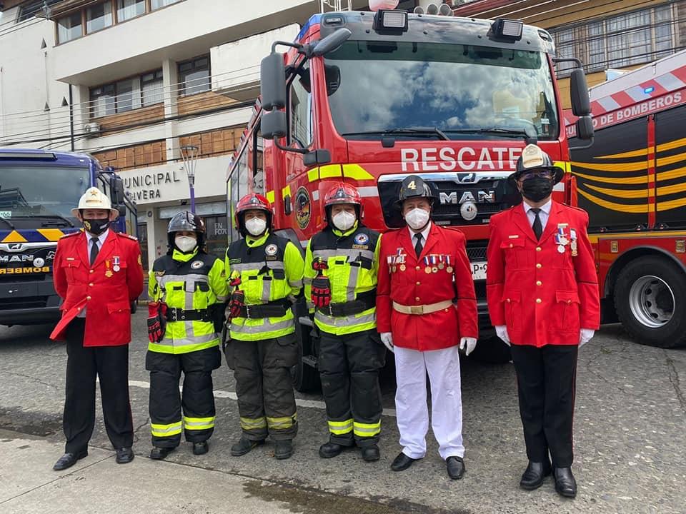 Cuarta Compañía recibe unidad de Rescate Técnico Pesado