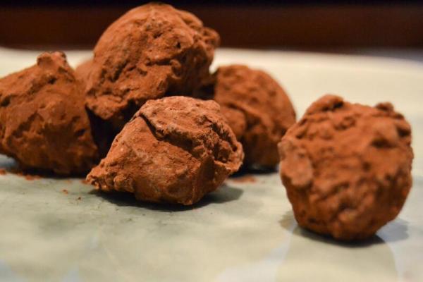 trufas de chocolate la pajarita