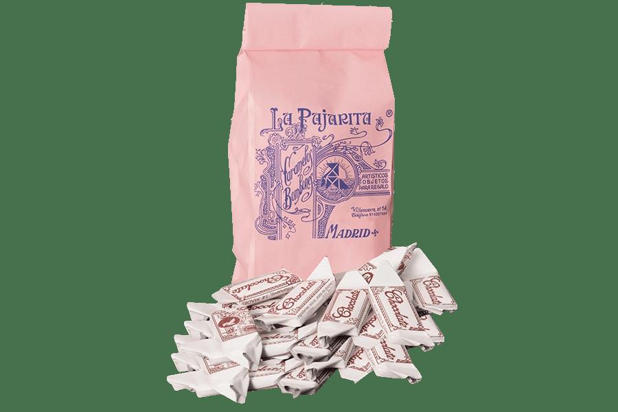 bolsa 250 gr chicolate