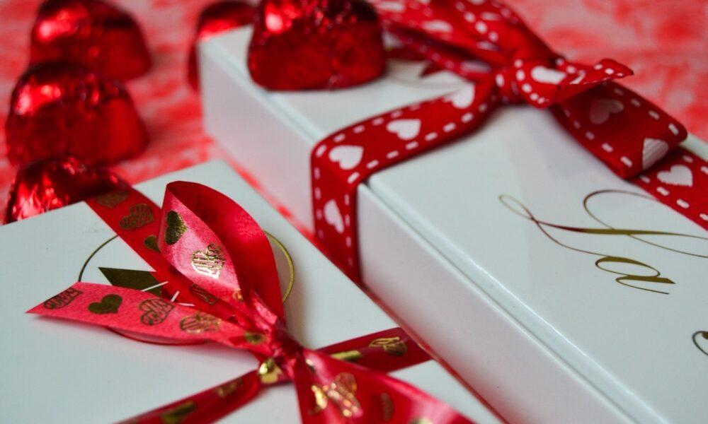 Caja bombones especial San Valentín