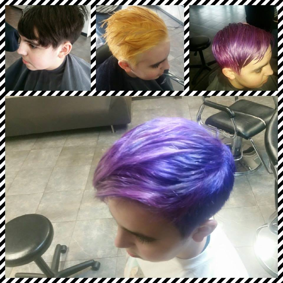 What color at Bombshell Hairshop