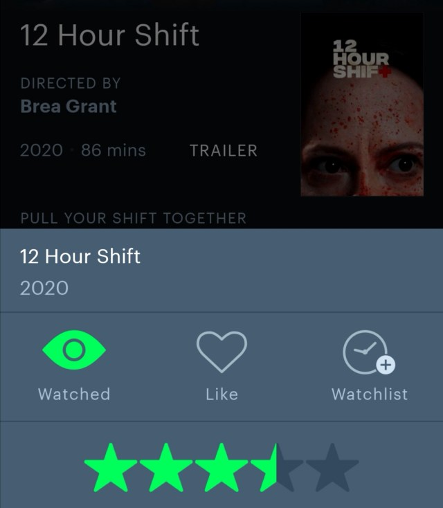 12 Hour Shift Letterboxd