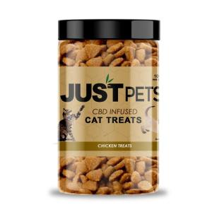 just cbd chicken treats for cats