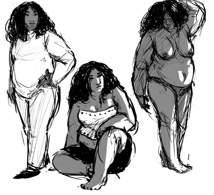 character bw sketches2