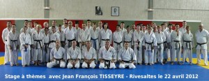 Stage de Ligue Rivesaltes Avril 2012