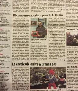 Indépendant du 12 mars 2015, page de Pia