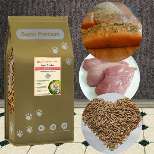 Super Premium Salmon cat food