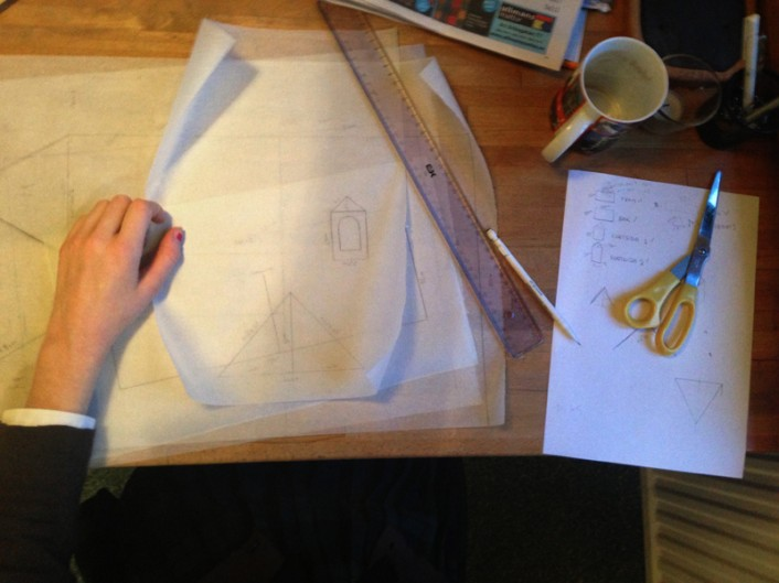 pepparkakshus ritningar