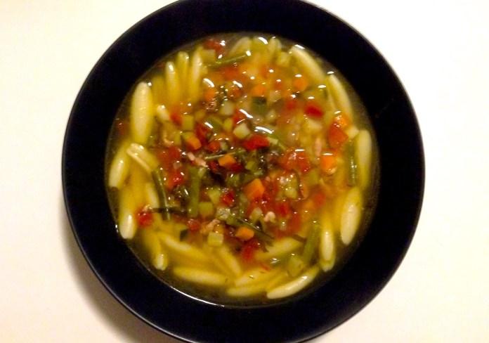 Le minestrone, la soupe réconfortante
