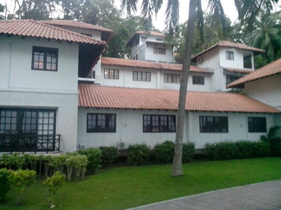 Suasana hotel Nongsa Point Marina Hotel Batam
