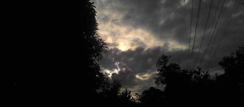 Gerhana Matahari Total dari Seduduk Putih Palembang :)