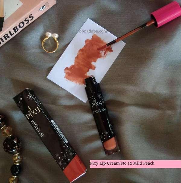 Pixy Lip Cream No.12 Mild Peach