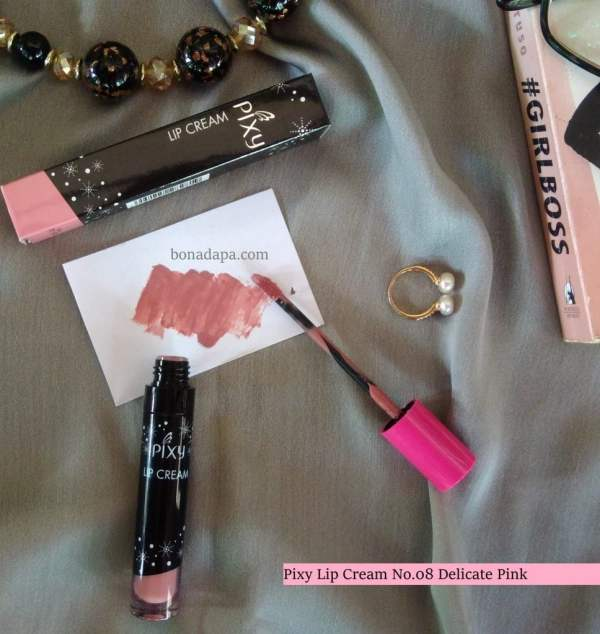 Pixy Lip Cream No.08 Delicate Pink
