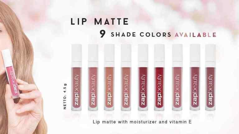 Review Loose Powder, Facial Wash dan Berry Rose Lip Matte dari ZAP Clinic
