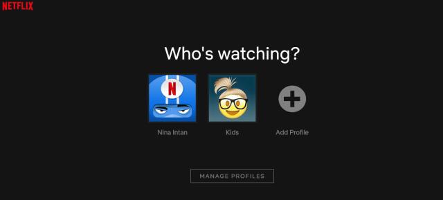 Who's watching Netflix