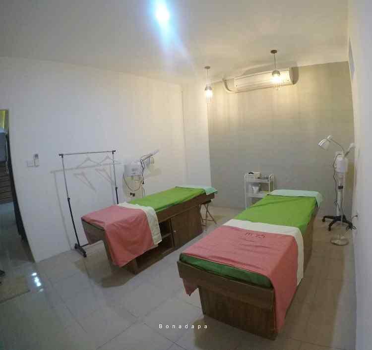 Ruang facial moz5 Palembang Square