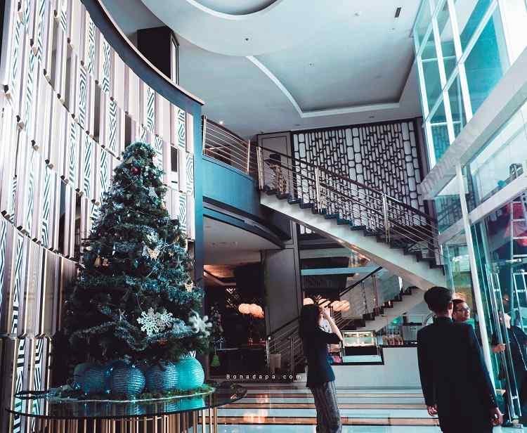 Lobby The ALTS Hotel Palembang
