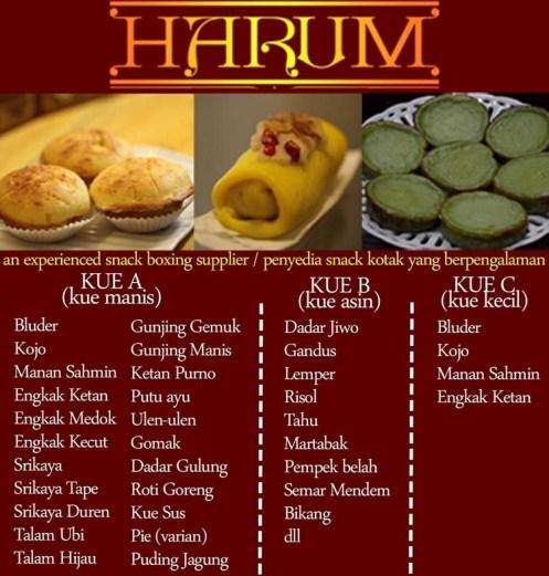 Snack Box Palembang Harum