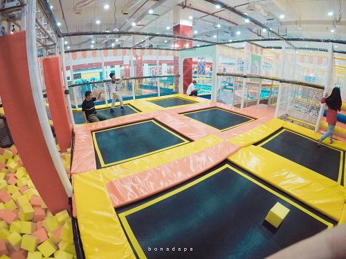 Trampoline Kidzilla Palembang Trade Center